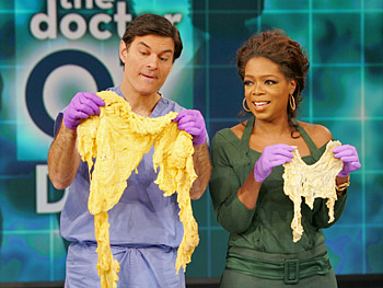 Omentum examples on Oprah with Dr. Oz