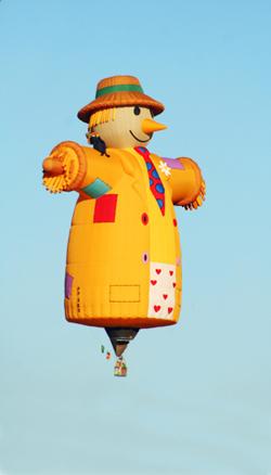 Scarecrow Hot Air Balloon