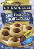 Ghirardelli Chocolate Drop Shortbread Cookie Mix