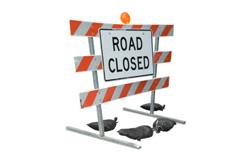 Road Closed Sign   Weight Loss Self-Sabotage   Fearless Fat Loss
