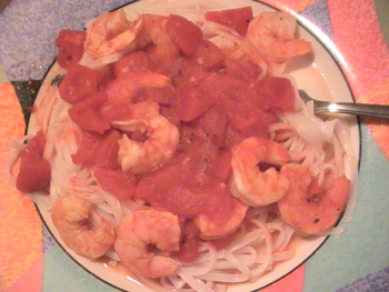 My Shrimp Scampi Pasta