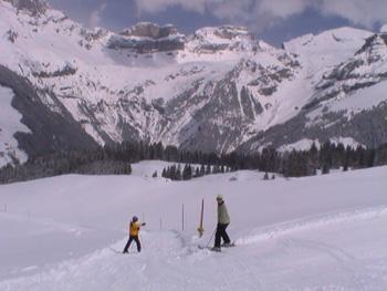 Skiing Engelberg Switzerland