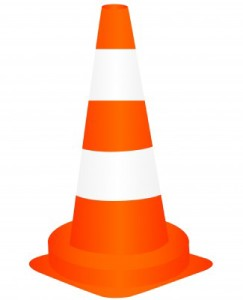 Caution Cone - 5 Reasons Sensa Sprinkle Diet Won't Work