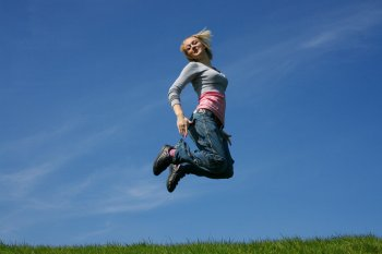 Jumping for Joy Fearless Fat Loss