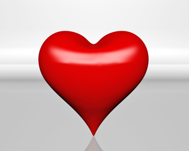 Red Heart 3-D