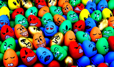 Emotions on Eggs