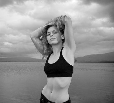 Fit Girl black & white image | Fearless Fat Loss