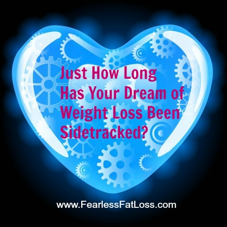 Sidetracked Weight Loss topic at FearlessFatLoss.com