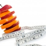 Weight Loss - Apple Mango Slices with Measuring Tape