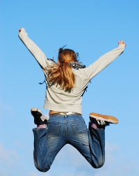 Jumping For Joy | Free Bonus for Permanent Weight Loss Ezine Signup!