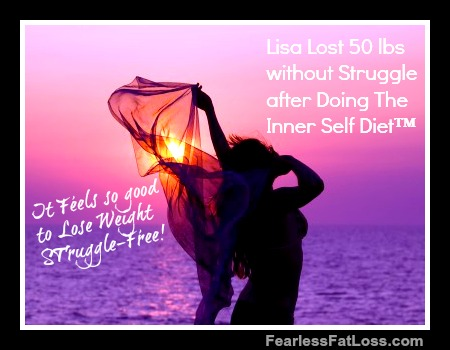 Lisa Lost 50 Pounds Without Struggle after Doing The Inner Self Diet™ with permanent weight loss coach JoLynn Braley