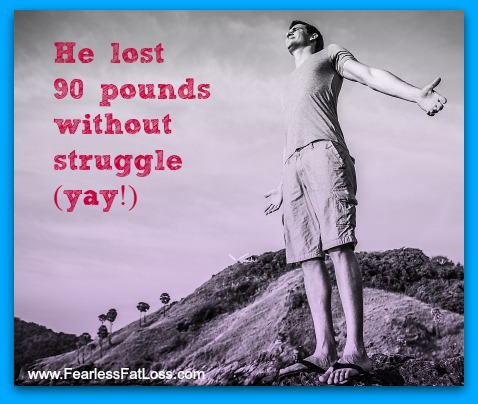 How to Lose 90 Pounds Without Struggle or Deprivation