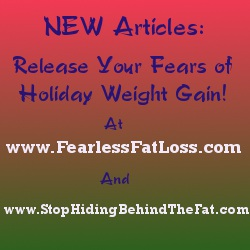 New Articles to Release Your Fears of Holiday Weight Gain