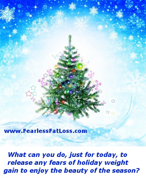 Christmas tree avoid holiday weight gain | Fearless Fat Loss