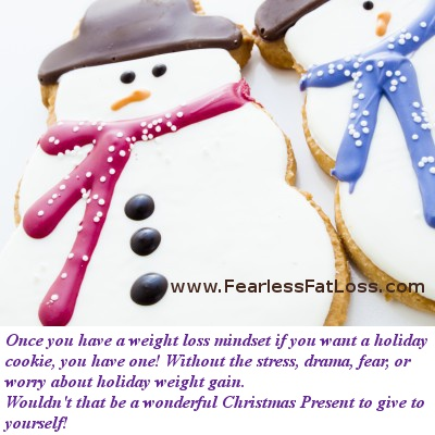 Snowman Cookies | Fearless Fat Loss