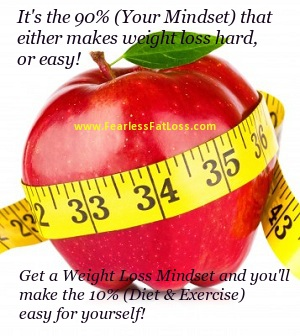 red apple weight loss mindset