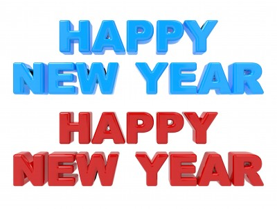 Happy New Year blue and red | Fearless Fat Loss
