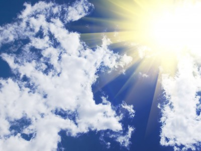 Beautiful Sunshine and Clouds at FearlessFatLoss.com