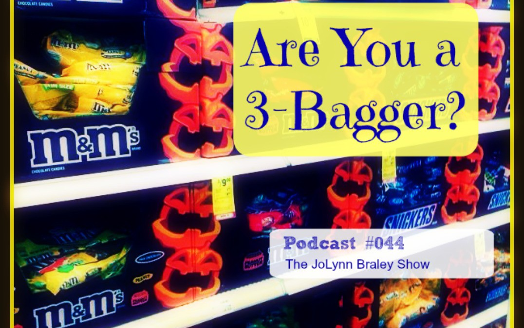 Halloween Candy Addiction – Are You a 3 Bagger? [Podcast #044]