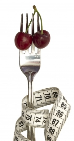 Diet Fork with Cherries at Fearless Fat Loss