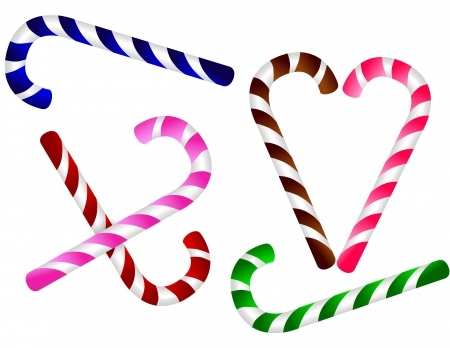 Bright Candy Canes at Fearless Fat Loss