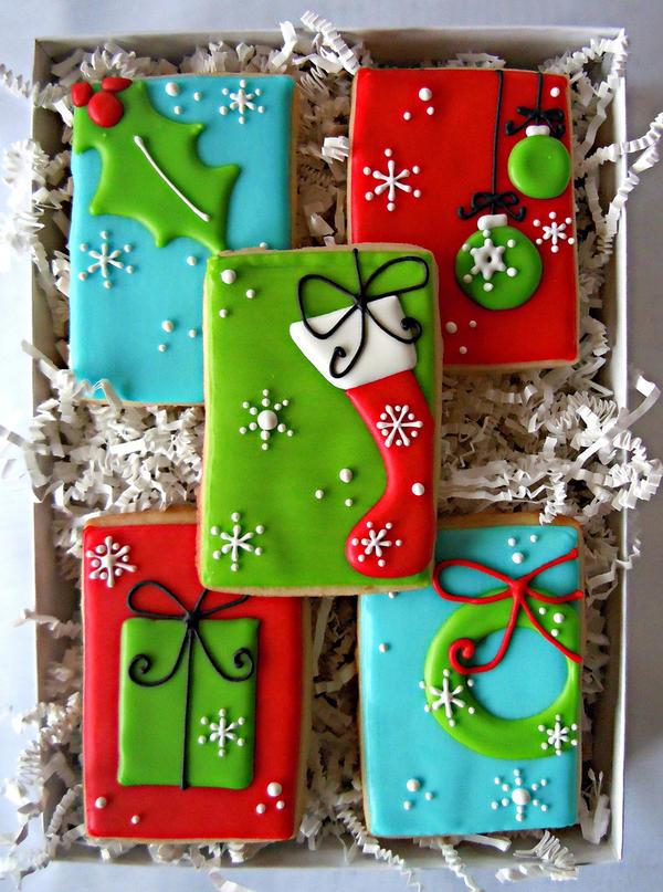 Beautiful Christmas Cookies at FearlessFatLoss.com