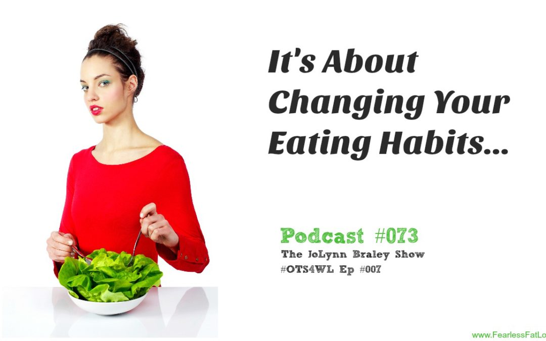 What Will It Take For You To Be WILLING To Change Your Eating Habits? [Podcast #073]