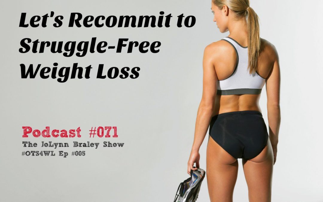 Let's Recommit to Struggle-Free Weight Loss! [Podcast #071]