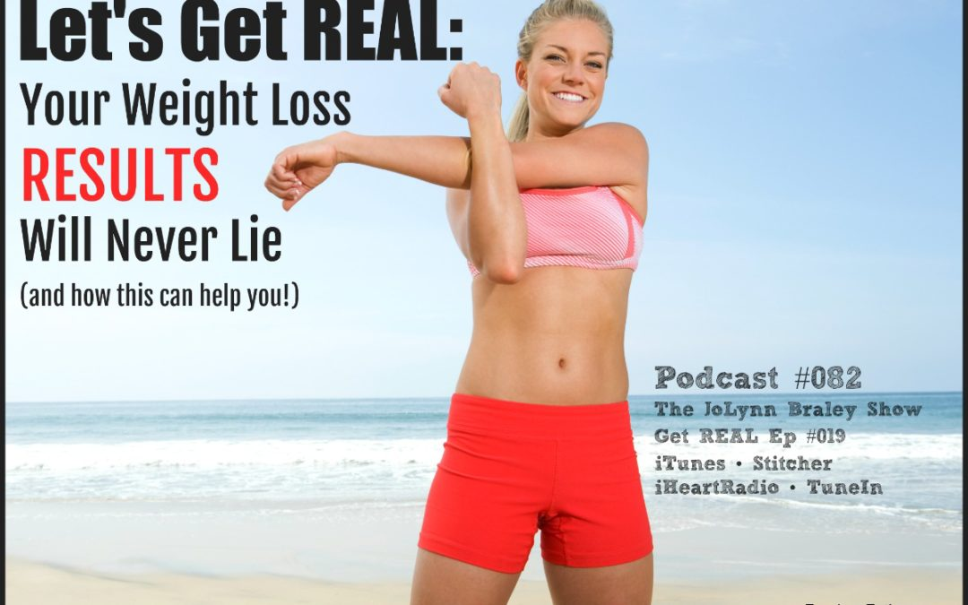 Your Weight Loss Results Will Never Lie [Podcast #082]