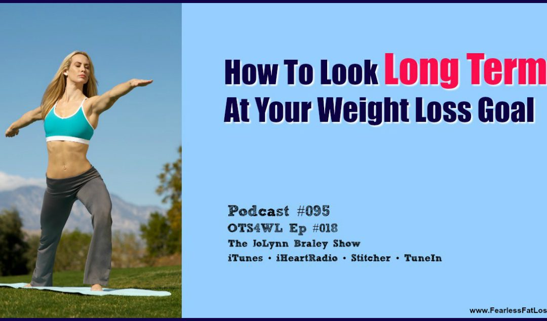 How To Look Long Term at Your Weight Loss Goal [Podcast #095]