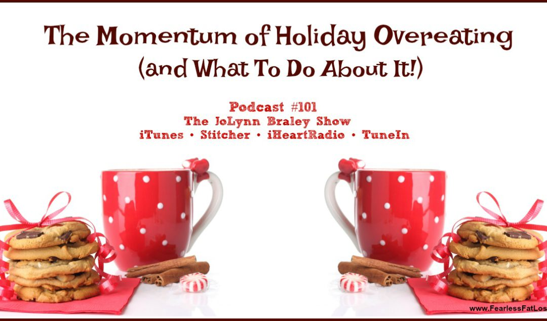 The Momentum Of Holiday Overeating (and What To Do About It!) [Podcast #101]