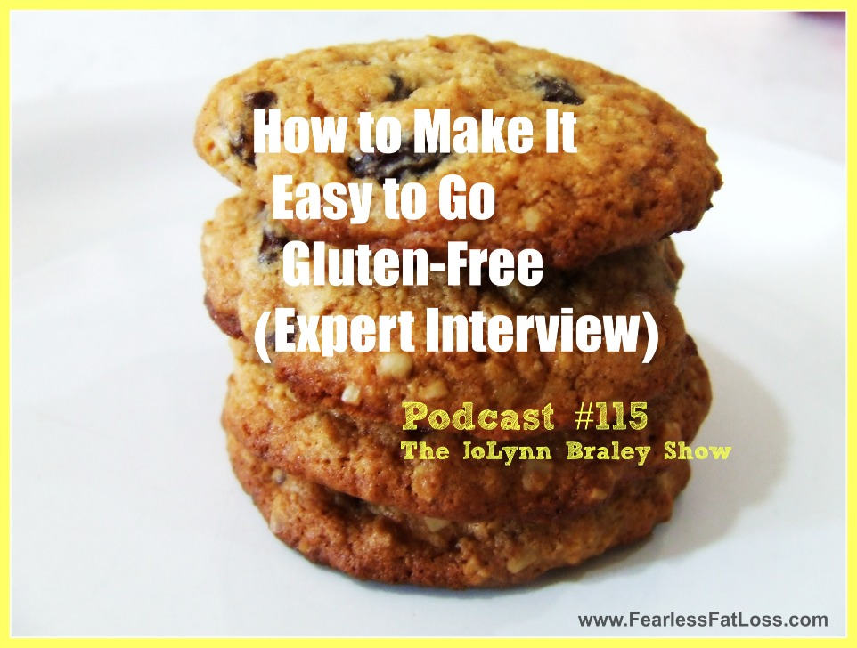 Podcast 115 How to Make it Easy to Go Gluten-Free