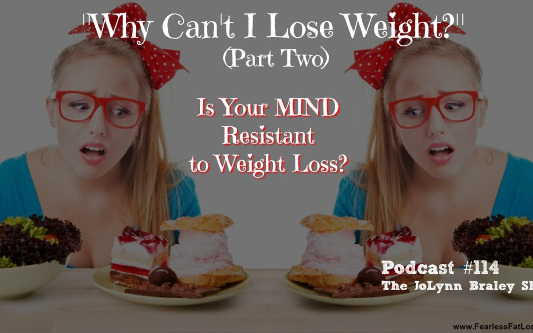 Why Can't I Lose Weight? (Part Two) Is Your MIND Resistant to Weight Loss? [Podcast #114]