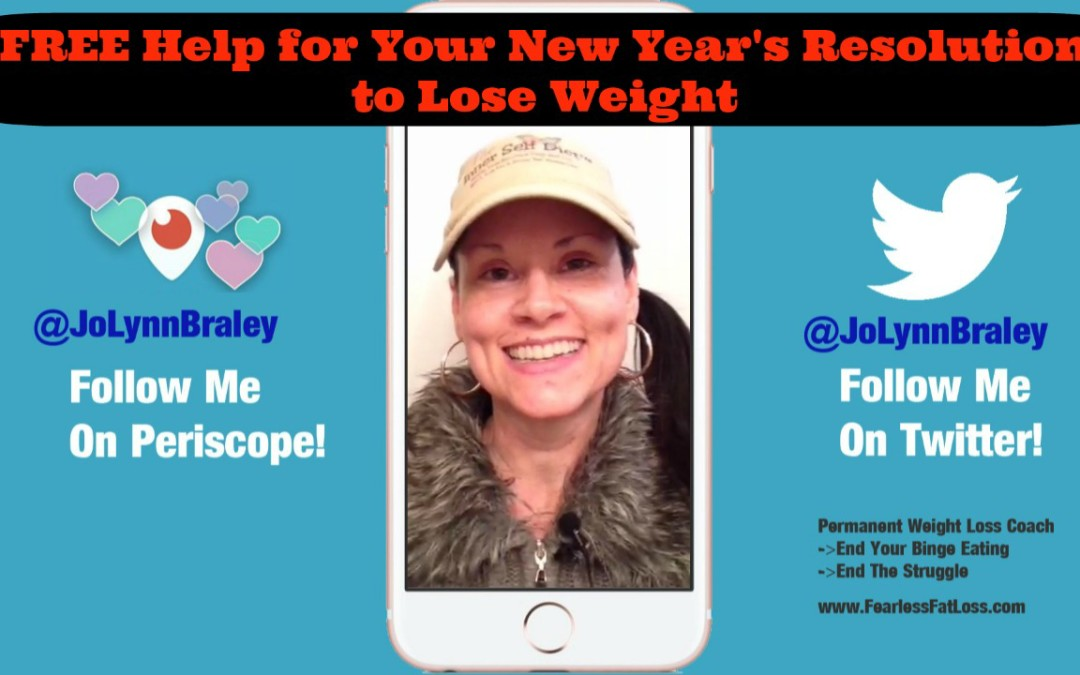 How to Get FREE Help for Your New Year's Resolution to Lose Weight