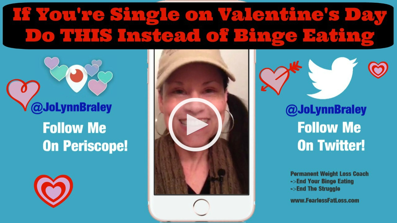 Do This On Valentine's Day Instead Of Binge Eating | FearlessFatLoss.com