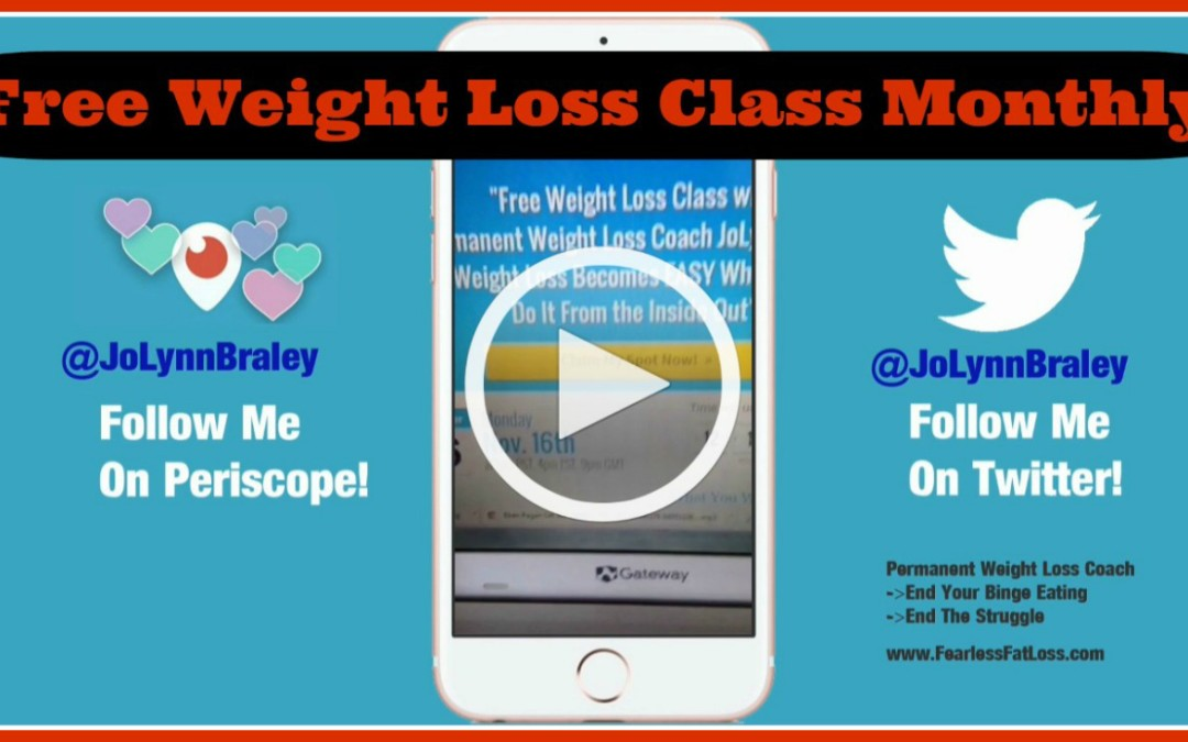 Don't Miss Out! FREE Weight Loss Class