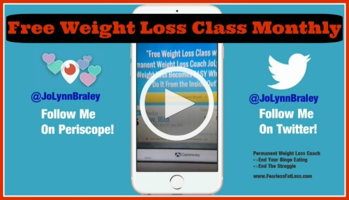 Free Weight Loss Class Monthly | FearlessFatLoss.com