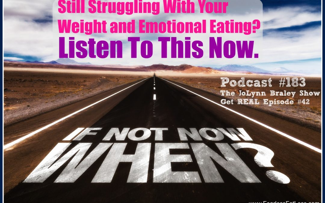End Your Emotional Eating Now with The Inner Self Diet [Podcast #183]