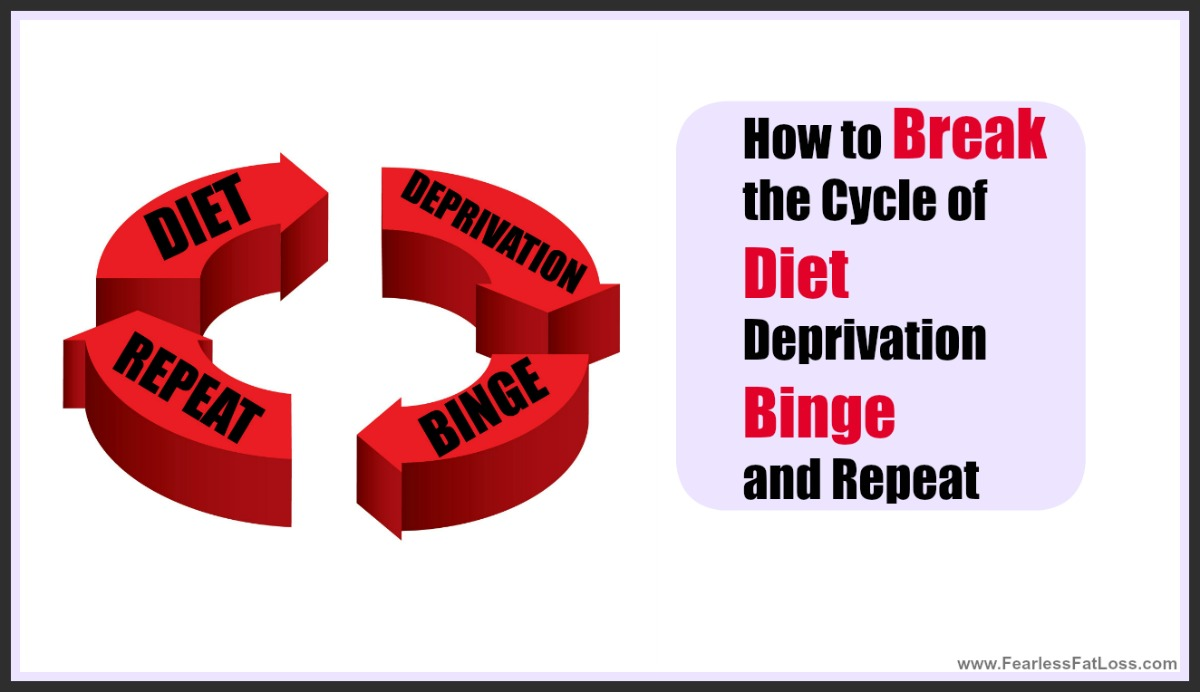 How To Break The Cycle of Diet Deprivation Binge and Repeat | FearlessFatLoss.com | Permanent Weight Loss Coach JoLynn Braley