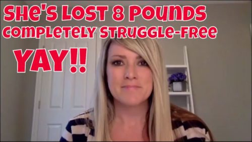 She's Lost 8 Pounds Struggle-Free and She's Still Going!   Inner Self Diet Testimonial