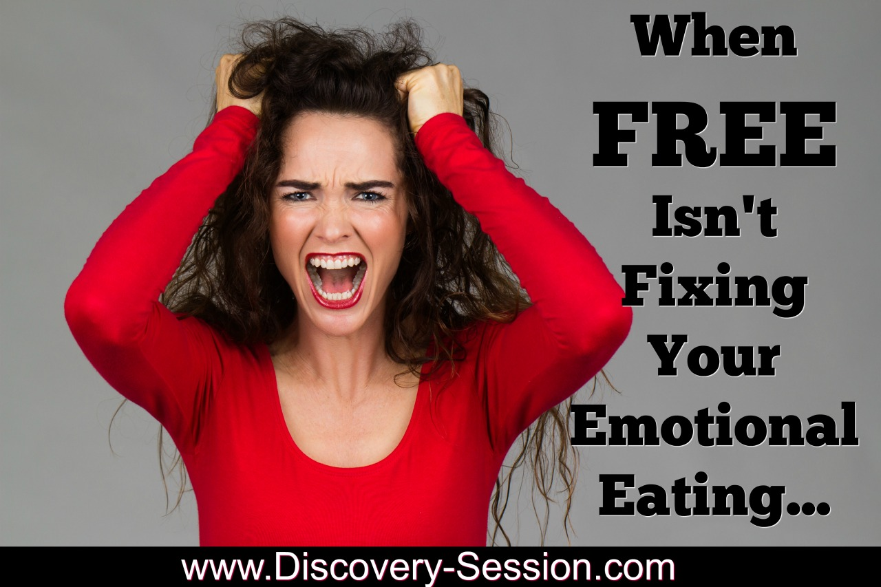 When Free Emotional Eating Information Isn't Fixing Your Emotional Eating | FearlessFatLoss.com | Emotional Eating Coach JoLynn Braley