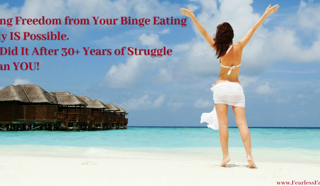 The Binge Eating Solution That Works: Listen To Her Results FOUR YEARS Later!